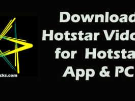 Hotstar videos download