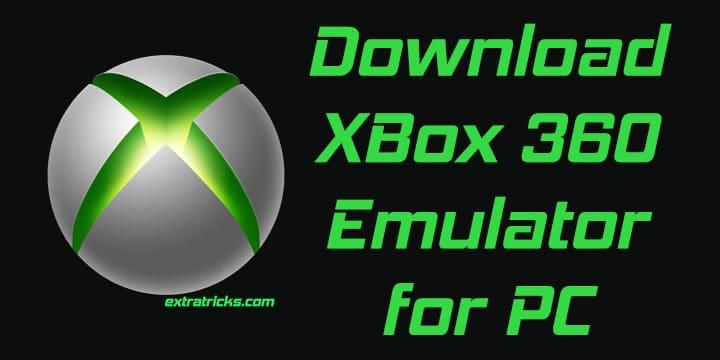 Xbox 360 emulator for pc on windows 10/8. 1/8/7 laptop xp vista.